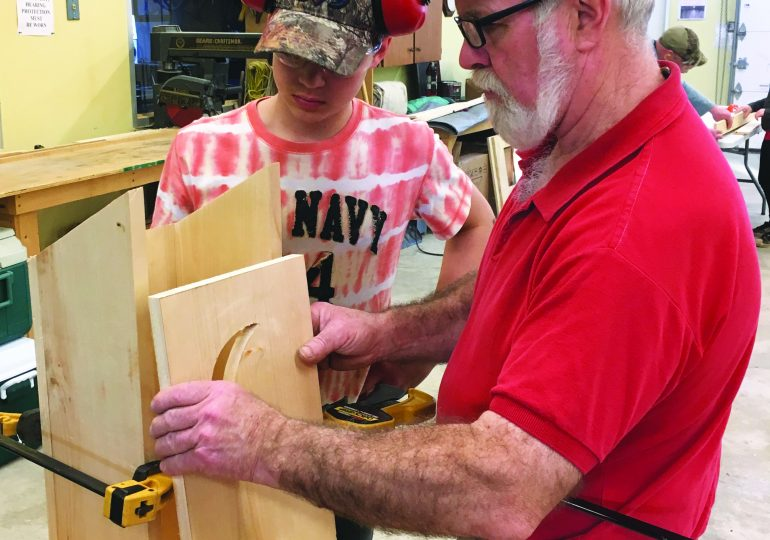 4-H Woodworking Club holds last meeting