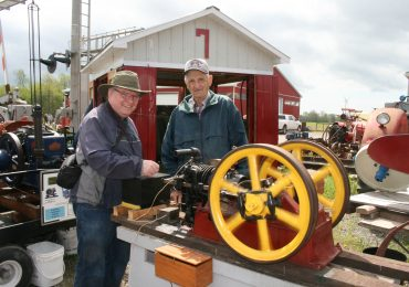 History on display during antique farm tour
