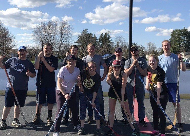 Junior Farmers play hockey, welcome new members