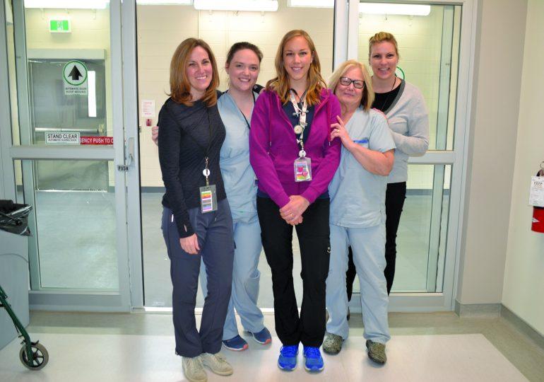 Celebrating Nurse's Week and staff at HWMH