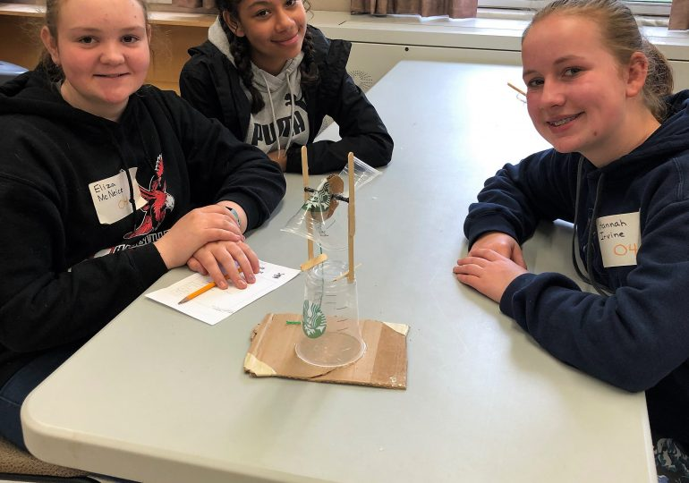 Students learn STEM
