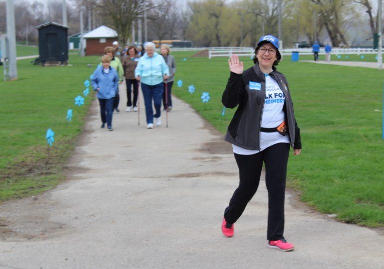 Caledonia Alzheimer's Walk raises $14K