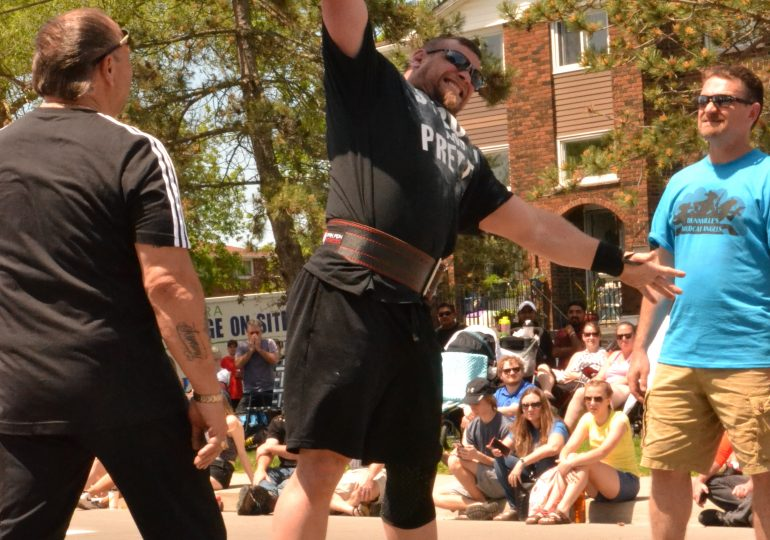 Superheroes invade 45th annual Dunnville Mudcat Festival
