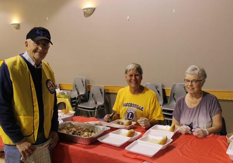 Hagersville Lions hold first annual Friday the 13th barbecue