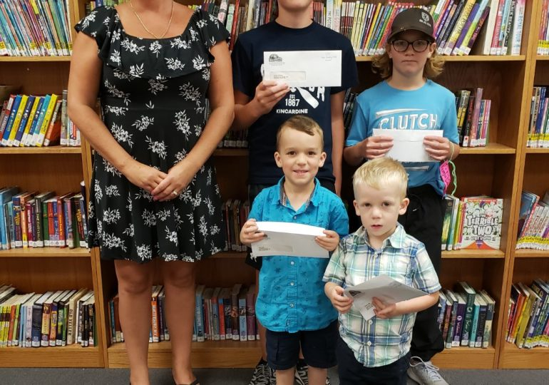 Hagersville Library announces reading winners