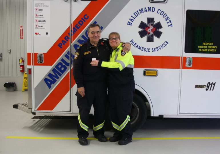 Local paramedics recognized for brave response to call: Awarded Ontario Award for Paramedic Bravery