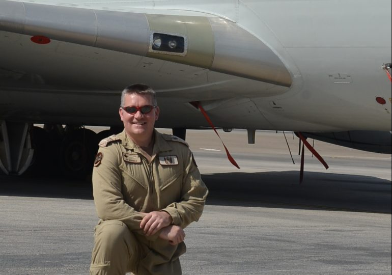 Ian McDonald defends the skies as a member of the Canadian Air Force