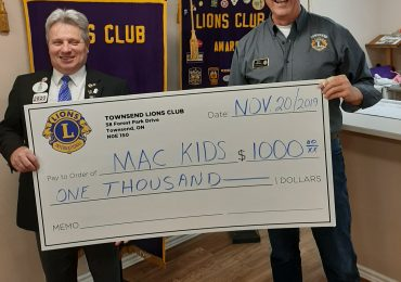 Townsend Lions make donations