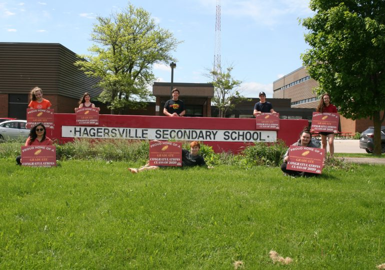 A sign of pride for HSS grads