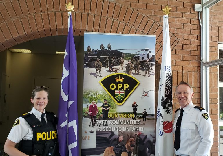 Indigenous History Month highlighted by OPP