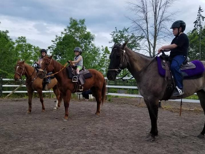 Horseback riding, an alternative to summer camp