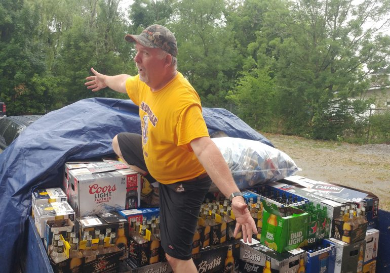 Bottoms up! Bottle drives raise much-needed funds for community groups