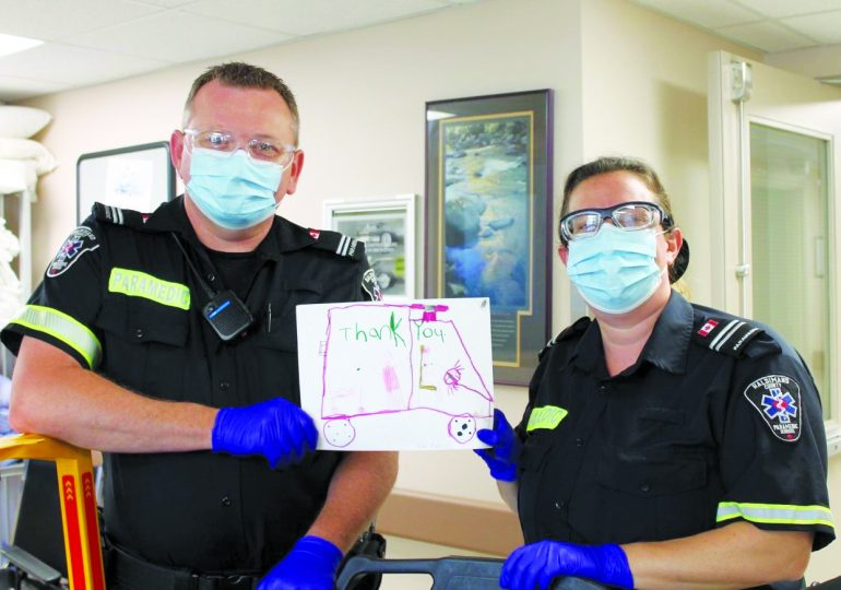 Art program continues to bring smiles to frontline workers