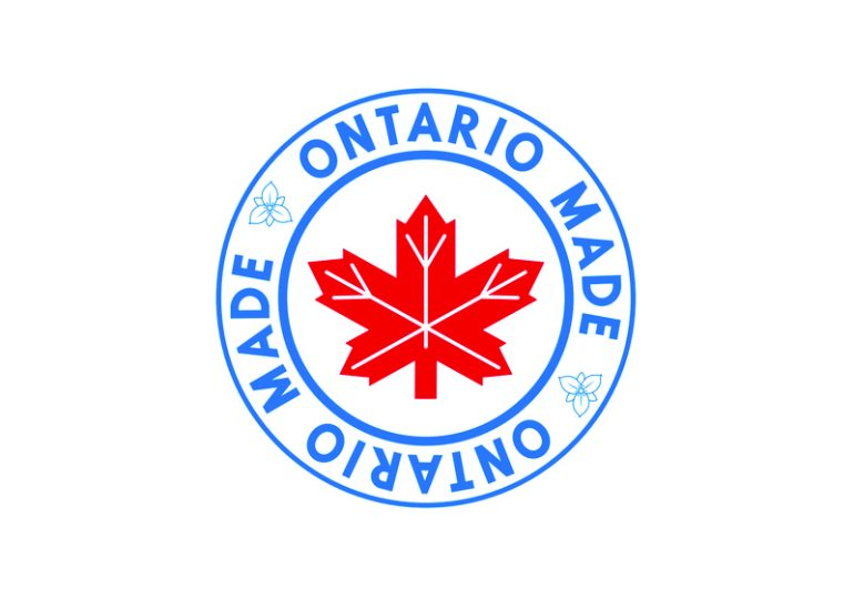 Ontario Made logo launched
