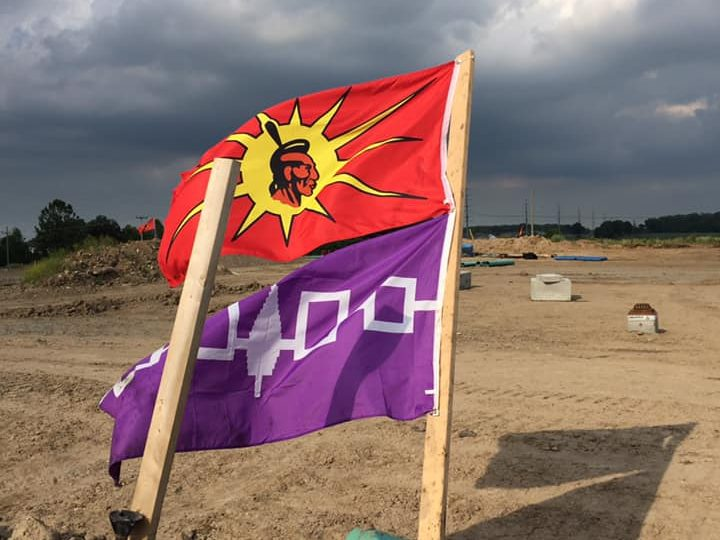 County calls for OPP to end protest, demonstrators  begin building structures