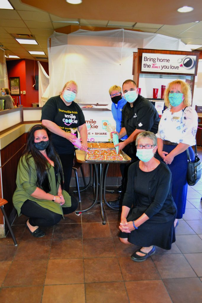 Dunnville Tim Hortons Smile Cookie Campaign