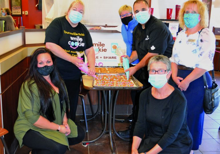 Dunnville Tim Hortons vies for top Smile Cookie spot third year in a row: More than $62,000 raised for hospital foundation