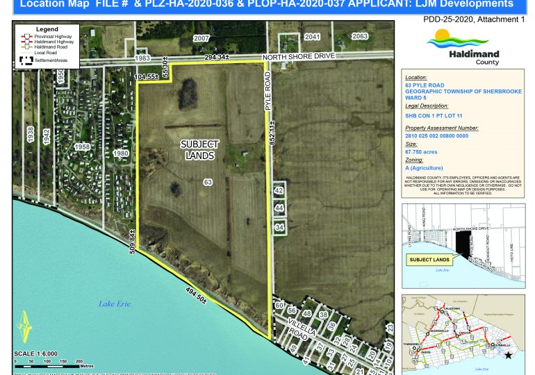 County says no to proposed Lake Erie shore cottage development