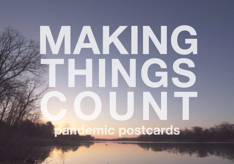 Locally-produced documentary Making Things Count: Pandemic Post Cards set to air on WNED PBS