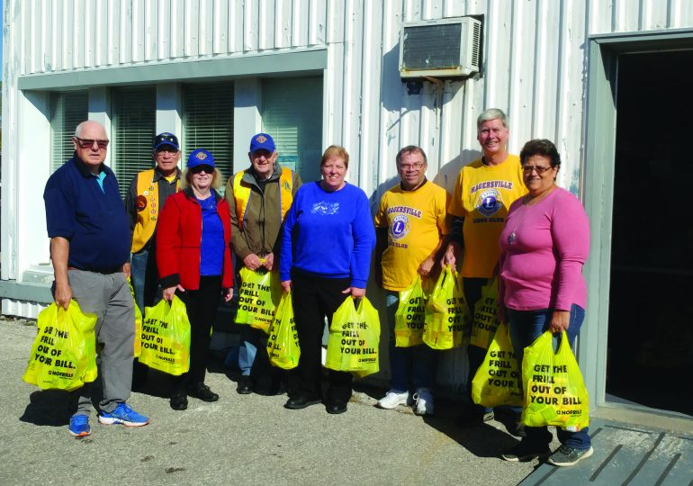 Hagersville Lions Food and Bottle Drive this weekend