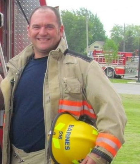 """You can't stay forever"": Bart Barnes looks back on 27 years as a firefighter"