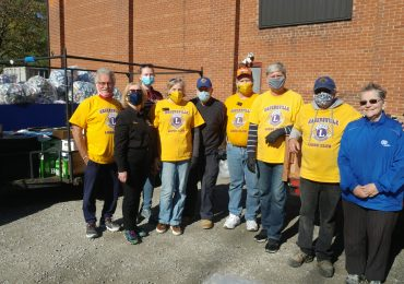 "Hagersville Lions' food & bottle drive: ""A great success on a gorgeous day"""