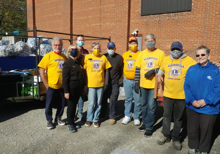 """Hagersville Lions' food & bottle drive: """"A great success on a gorgeous day"""""""