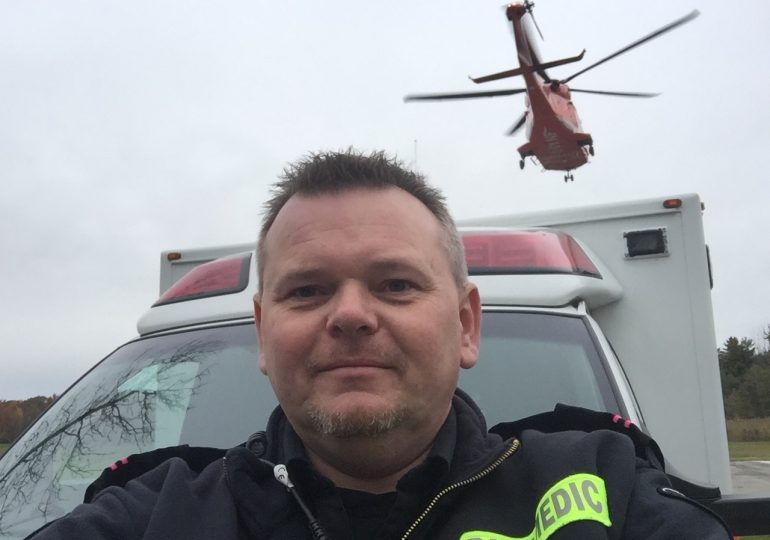 making a difference: Brian Postma on his 27-year career as paramedic