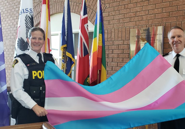 OPP recognizes Transgender Awareness Week