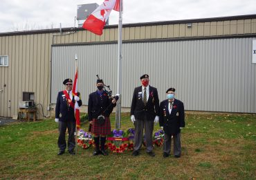 Haldimand marks Remembrance Day 2020