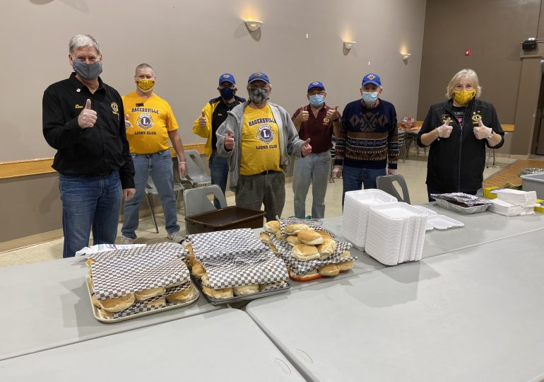 Hagersville Lions serve up pork on a bun for Friday the 13th