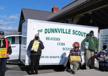 Scouts hold food drive in support of Salvation Army