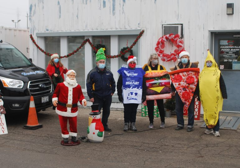 Van stuffed with 3,000lbs. of donations for Hagersville Food Bank