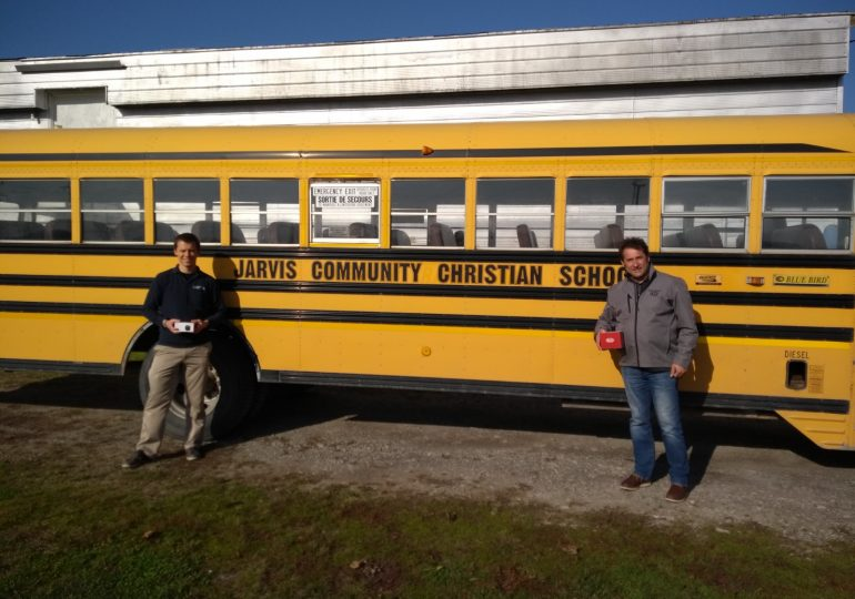 JCCS student safety enhanced with school bus dash cams