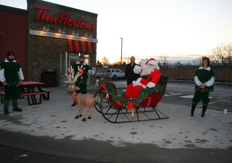 Making spirits bright in Jarvis and Townsend