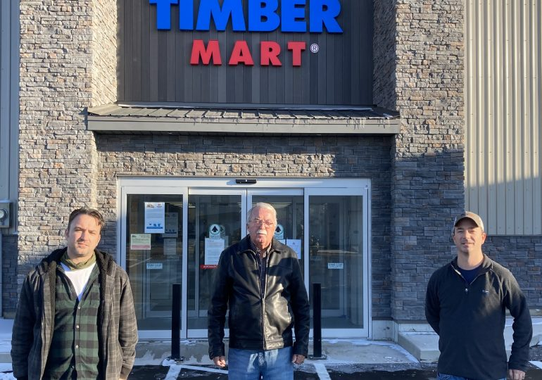 TimberMart gives $28K to local food banks and charities