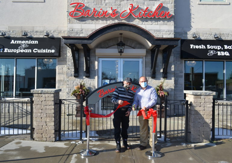 Barin's Kitchen opens in Hagersville with Armenian cuisine and a sophisticated atmosphere
