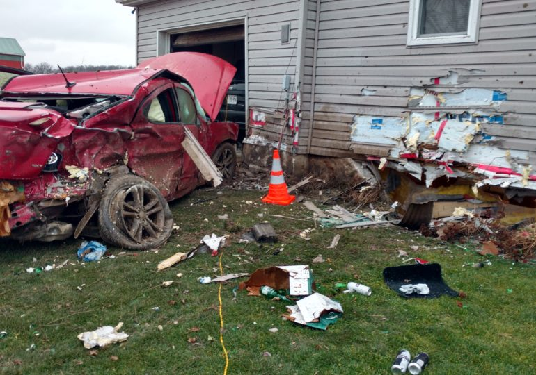 Christmas Eve accident leaves family stranded over a month later