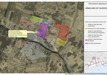 Urban boundaries to expand in Caledonia, reduce in Jarvis, Townsend