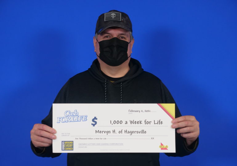 Lucky! Two Haldimand residents win lottery