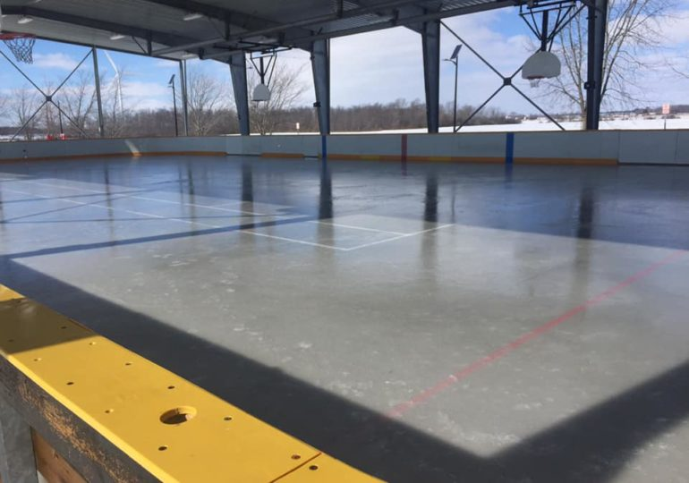 Fisherville Lions have ice rink up and running