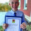 Local boy wins Dunnville Optimist Club's essay contest
