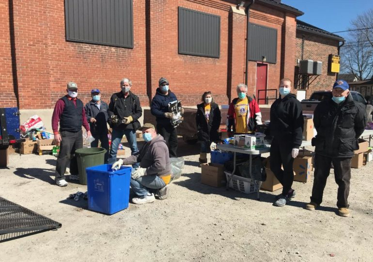 New record raised at  Hagersville Lions Can & Bottle Drive