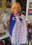 Sewing dignity into shirt coverings for seniors