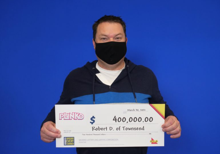 Townsend resident wins $400,000 with Instant Plinko