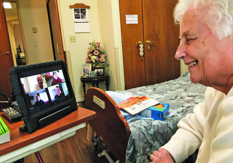 School project leads to new friendships between students and seniors