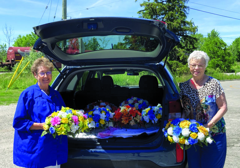 Saddles sold by WHGH  Auxiliary benefit hospital