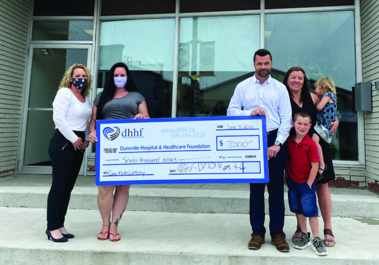 DHHF hosting online Care & Win Lottery