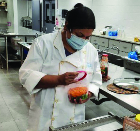 Local chef gives back by sharing her love of cooking