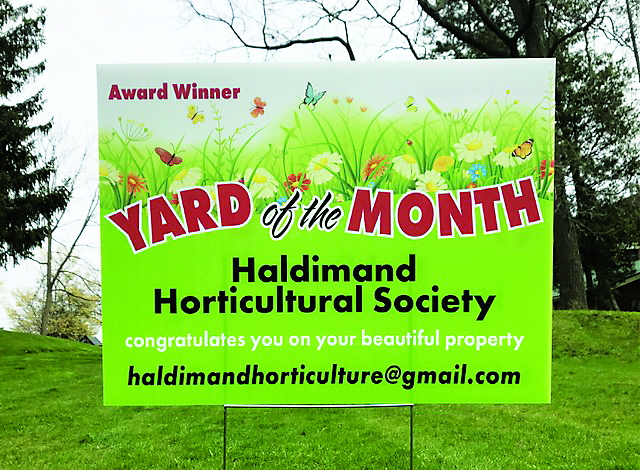 Haldimand Horticultural Society recognizes exceptional yards